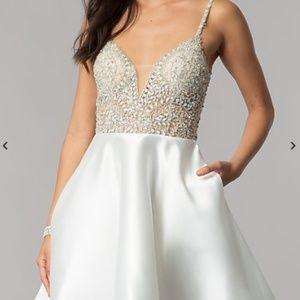 Exquisite, Short, Party Dress